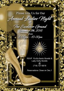 Annual Ladies Night Gala – 2018